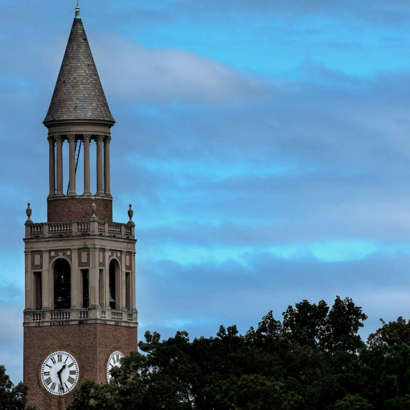 image of Morehead-Patterson Bell Tower at UNC-Chapel Hill