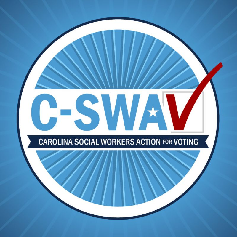 Carolina Social Workers Action for Voting logo