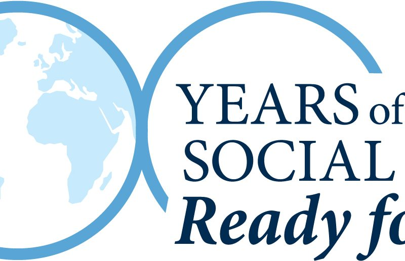 School of Social Work Centennial logo