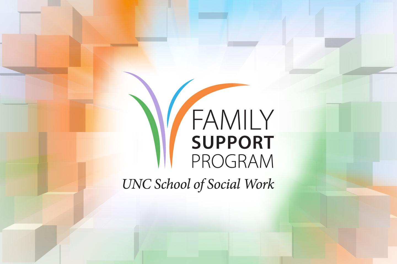 Family Support Program, UNC School of Social Work logo
